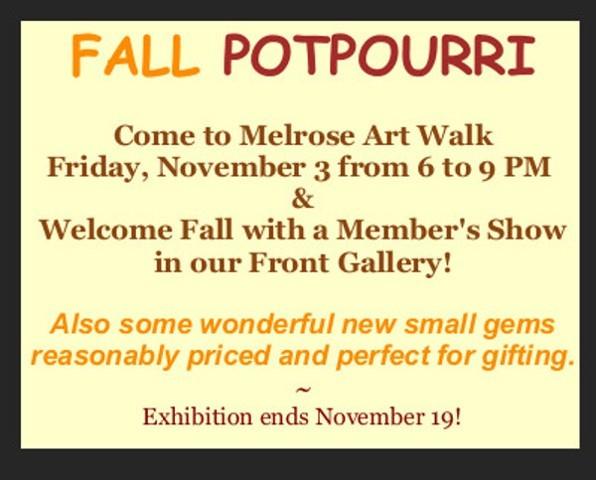 Fall Potpourri, 2017