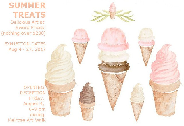 """Summer Treats"" --Member Show"