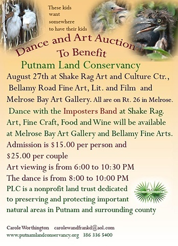 Dance and Art Auction to Benefit Putnam Land Conservancy