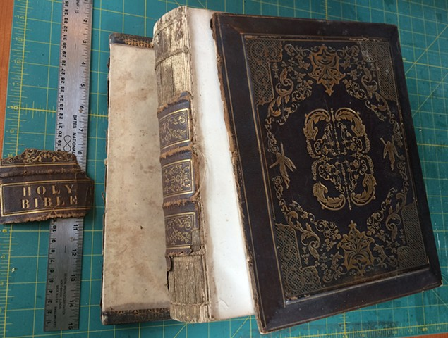 19th c. Bible, Scotland before
