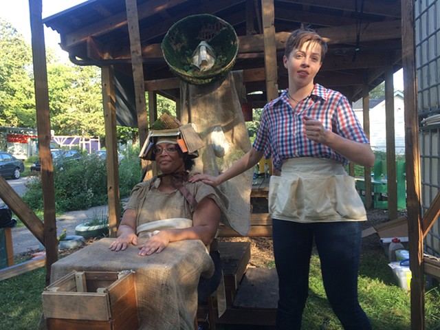 We're All In This Yogether: Site Specific Theater and Time Travel in Detroit's Urban Gardens