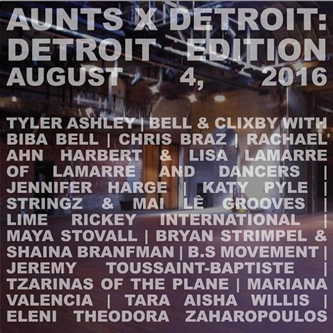 Performing in AUNTS is Dance : Detroit Edition