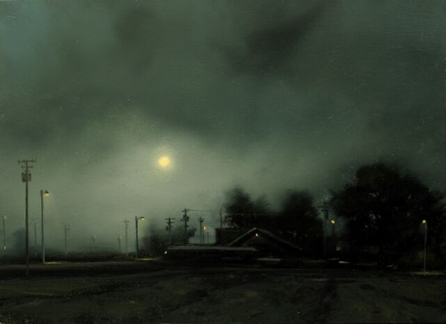 Ford Road Nocturne -Study