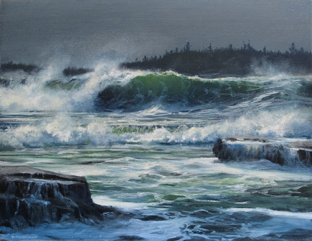 Breaking Wave study II