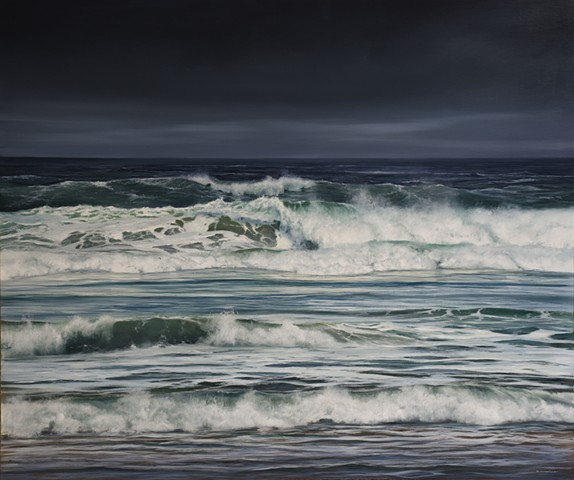"""Incoming Tide- Cannon Beach"""