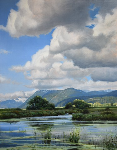 """Late Spring Towards Widgeon Valley"""