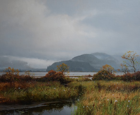 """Autumn towards Grant Narrows"""