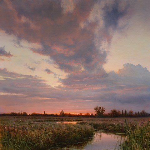 """Wetlands in Late August"""