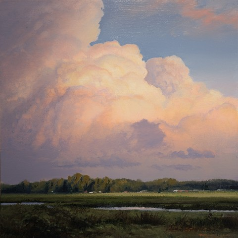 """Illuminated Thunderhead"""