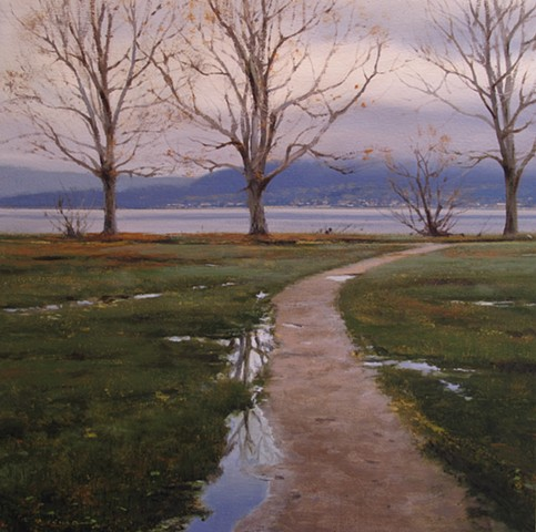 Spanish Banks in Autumn - Study
