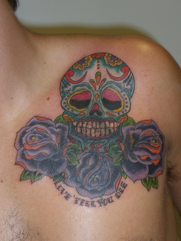 after ...sugarskull and roses