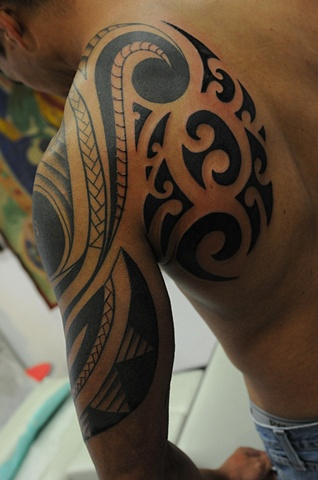 back tribal