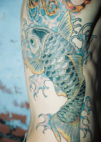 octopus and koi rib