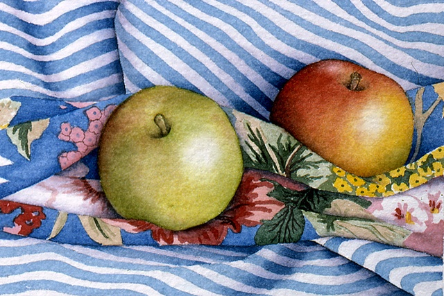 Apples with Stripes