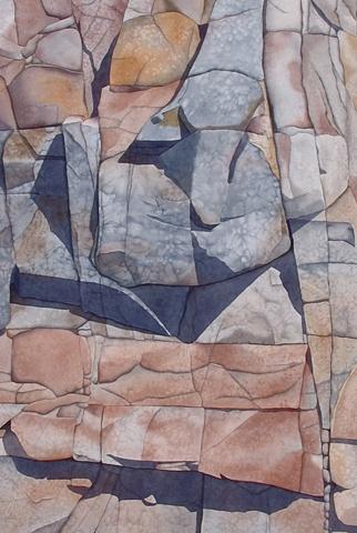 Rock Face II