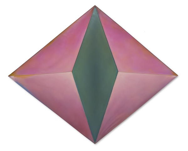 space sculpture depth site-specific air wind abstract color shape geometric paint gravity commision