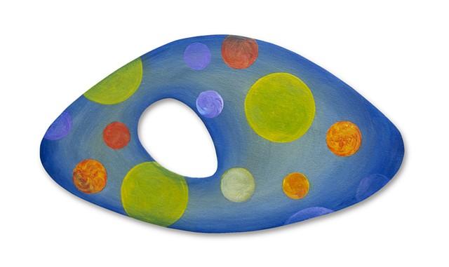 shape color painting sculpture space