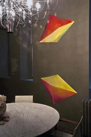 installation air space flight color gravity kite oxygen design custom site-specific