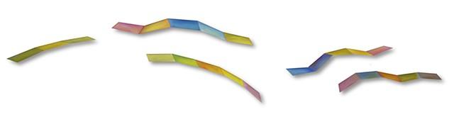 color space shape geometric sculpture painting flat