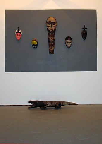 masks, sculpture