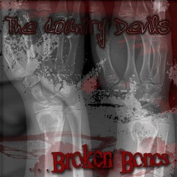 "Country Devils ""Broken Bones"" CD Cover-b"