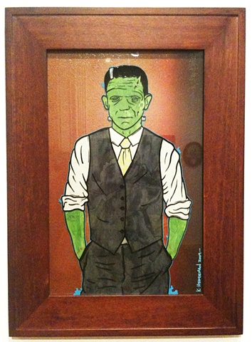 frankenstein suit and tie
