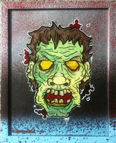 zombie dead