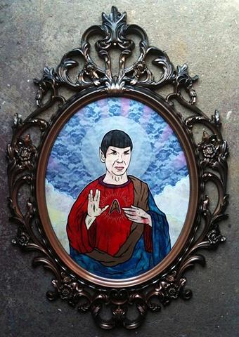 spock star trek jesus
