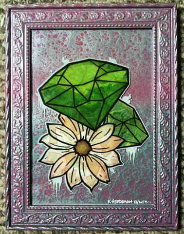 emerald diamond tattoo herdeman