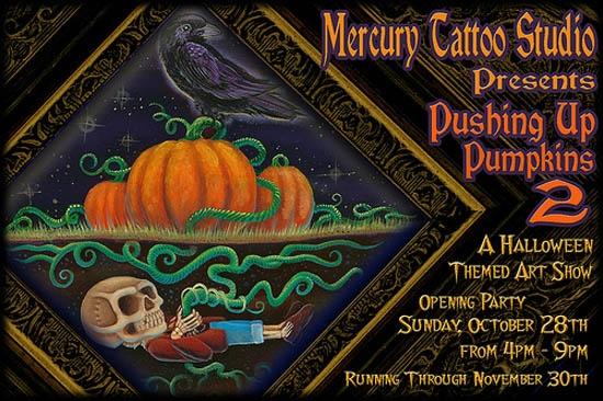 Pushing Up Pumpkins