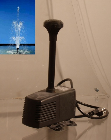 The 750GPH Submersible Fountain Pump