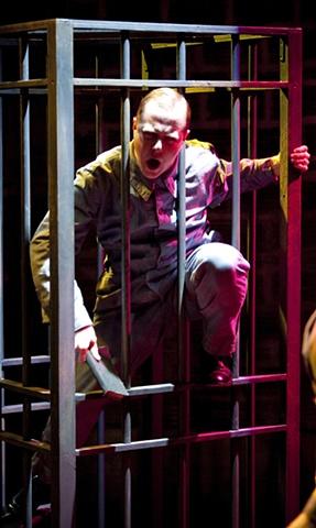Shrdlu sings the blues in prison