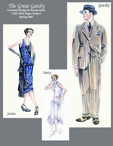 Gatsby, Daisy and Jordan