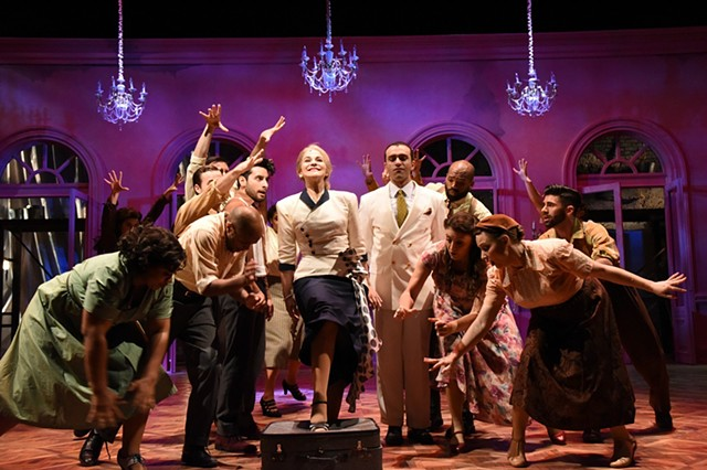 Evita Production Photo