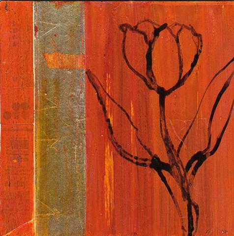 Tulip with Foil