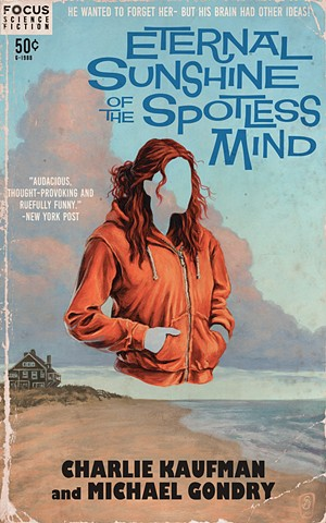 Meet Me In Montauk by Stephen Andrade Eternal Sunshine Of The Spotless Mind vintage paperback print Focus Features Gallery1988 G1988 2017
