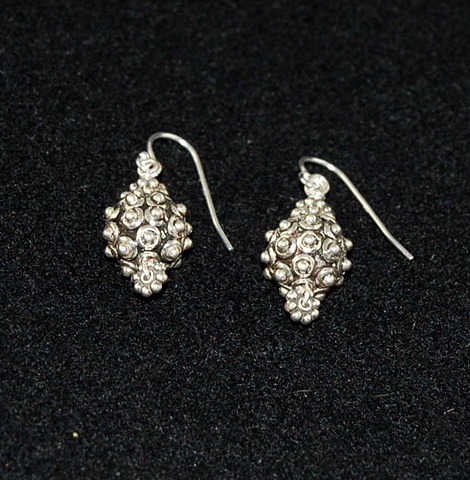 """Bali Silver Earrings"""