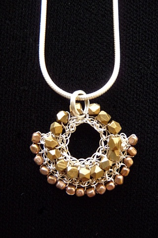 prisha brown wire crochet jewelry entwine