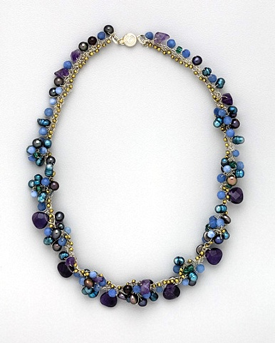"""Heirloom Grape Necklace"""