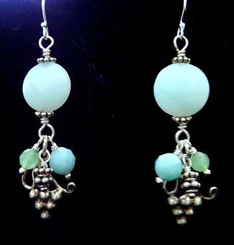 Grecian Wine Earrings
