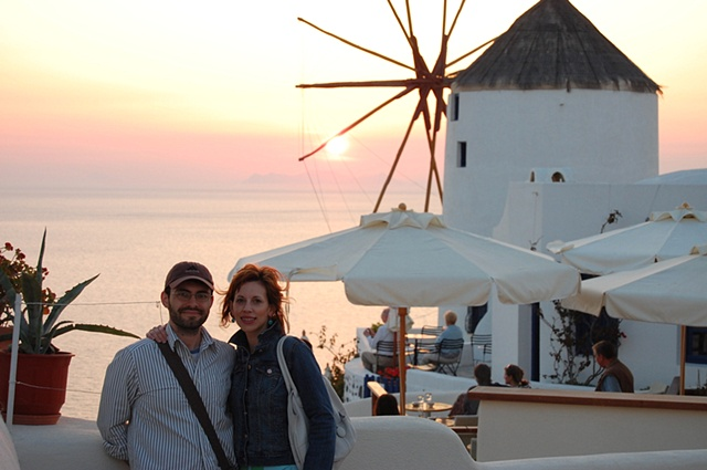 """Santorini Sunset with Jon"""