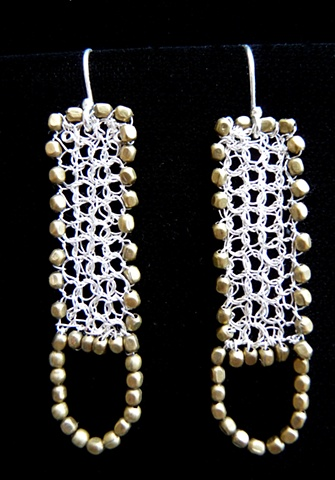 prisha brown wire crochet jewelry
