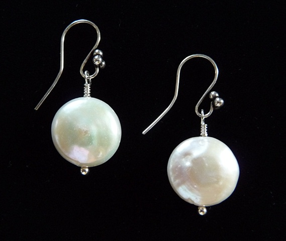 """Falling Snow Drop Earrings"""