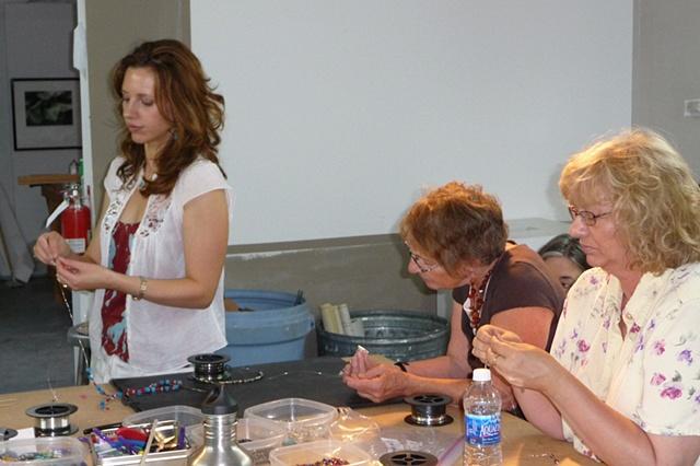 Me, Gail, and Mari