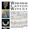 Wawawai Canyon Winery Postcard