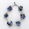 """Grape Cluster Bracelet"""