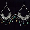 Celadon Burst Earrings