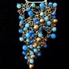 Blue Quartz Africa Pendant
