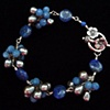 """""""Lapis Blossoms Bracelet"""""""