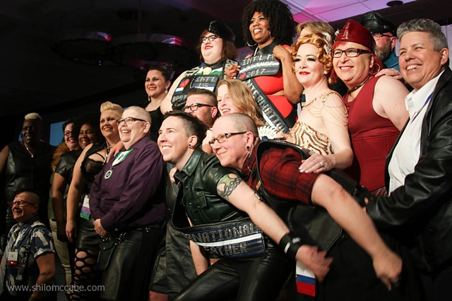 Winners and Alumni, International Ms. Leather/International Ms. Bootblack Contest 2017.